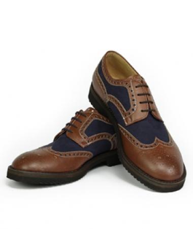 Derby brown/blue