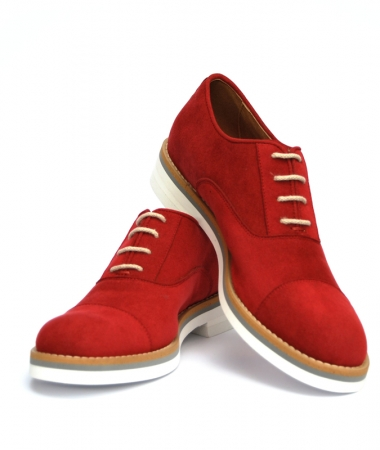 OXFORD Woman Red