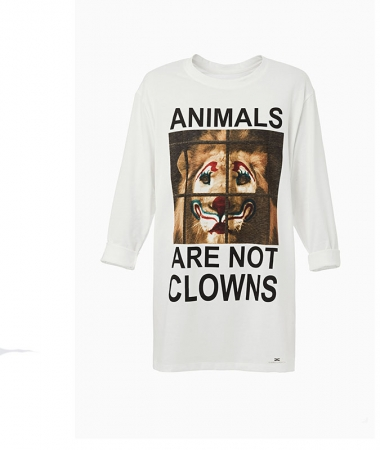 "T-shirt Circus ""not clowns"""
