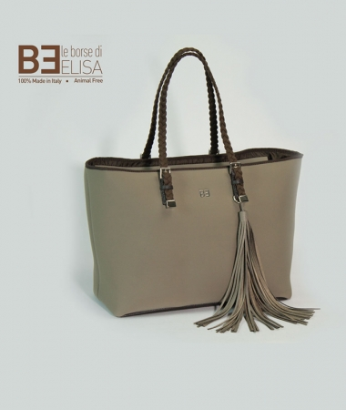 Shopping bag Taupe